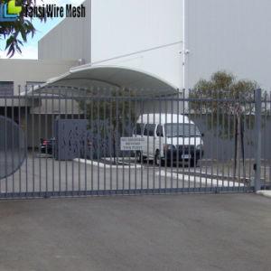 Beautiful Stronger Black Tubular Galvanized Steel Fence pictures & photos
