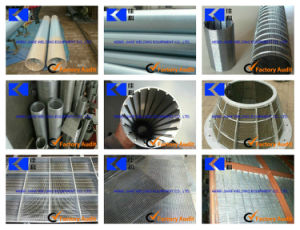 Water Griddel Filtration Wedged Screen Welding Machine pictures & photos