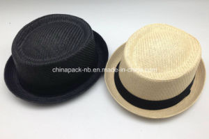 New Model Boater Italian Paper Straw Hats (CPA_80053) pictures & photos