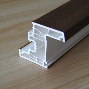 PVC Door Frame/Plastic Profiles for Windows pictures & photos