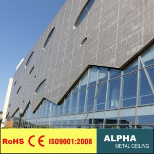 Aluminum Metal Decorative Exterior Profile Curatain Wall pictures & photos