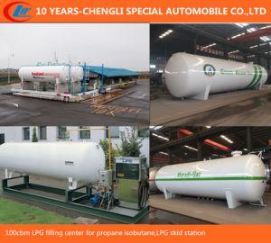 100cbm LPG Filling Center for Propane Isobutane, LPG Skid Station pictures & photos