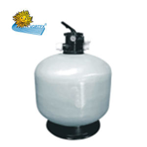 T750 Economical Top-Mount Fiberglass Sand Filter for Swimming Pool and Sauna