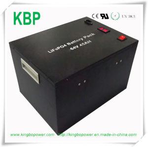 Back-up Power 64V 45ah LiFePO4 Battery for Solar Energy