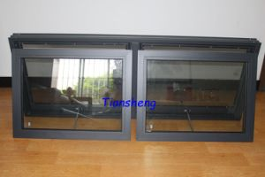 Australia Style Aluminum Awning Window with Flyscreen and Double Touged Glass with AS/NZS2208 Certification pictures & photos