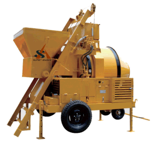 Self-Loading Hydraulic Diesel Engine Concrete Mixer pictures & photos