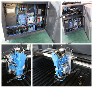 Metal Non-Metal Laser Cutting Machine for Sale with Mixed Cutting pictures & photos