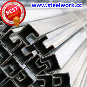 ERW Galvanized/ Annealing Welded Concave Steel Pipe (T-07) pictures & photos