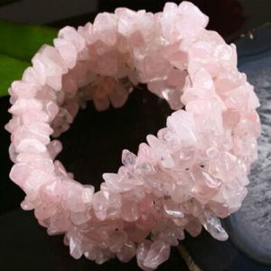 OEM Design Classical Pink Quartz Bracelet pictures & photos