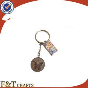 Hot Sale OEM Design Cut out Zinc Keychain pictures & photos