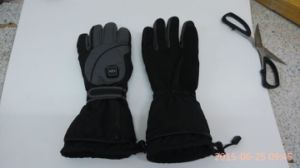 Waterproof Leather Heated Glove for Winter Outdoor pictures & photos