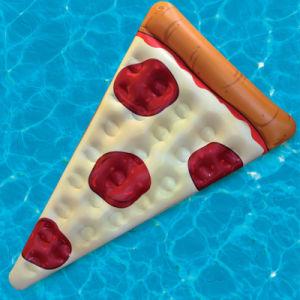 Hot Sale Summer Swim Item PVC Inflatable Pizza Pool Float pictures & photos