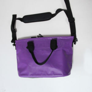 Purple Tarpaulin Waterproof Lady Dry Bag for Shopping (MC4040) pictures & photos