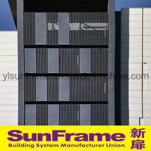 Aluminium Louvers for Curtain Wall Decoration pictures & photos