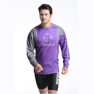 100% Polyester Man′s Long Sleeve T-Shirt pictures & photos