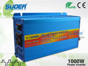 Suoer Power Inverter 1000W Solar Power Inverter 24V to 220V Modified Sine Wave Power Inverter for Electric Cars (FAA-1000B) pictures & photos
