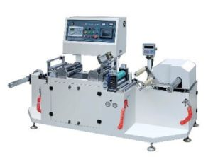 High Speed PVC Shrink Sleeve Cutting Machine pictures & photos