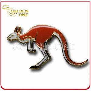 Antique Plating Custom Cute Kangaroo Metal Enamel Pin pictures & photos