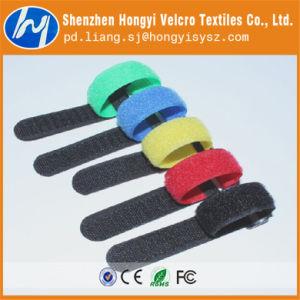 Dacron Durable Soft-Hook & Loop Velcro Cable Tie pictures & photos