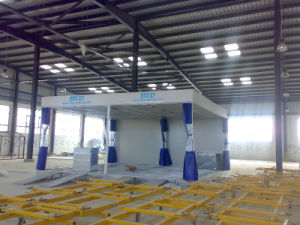 Preparation Station/Truck Spray Booth/Water Curtain Paint Spray Booth Btd6200A pictures & photos
