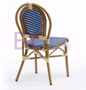 New Products Practical Non-Wood Aluminum Patio White Rattan Chair pictures & photos