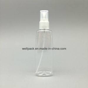 100ml Oval Plastic Bottle with Sprayer pictures & photos