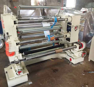 Vertical Film Roll Slitting Rewinding Machine pictures & photos
