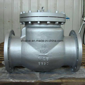 150lb/300lb Carbon Steel Wcb RF Swing Check Valve pictures & photos