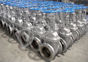 Handwheel Gear Casting PTFE Seated Flanged Gate Valve pictures & photos