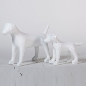 Different Size Fiberglass Dog Mannequin for Boutique pictures & photos