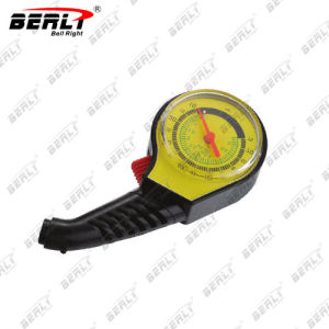 Bellright Yellow Surface More Precise Dial Style Tire Gauge