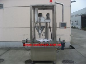 Automatic Rotarty Powder Filling Machine with Inline Checkweigher pictures & photos