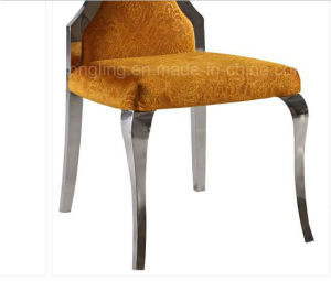 Top Fabric Stainless Steel Banquet Chair for Sale pictures & photos