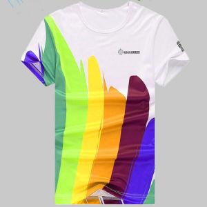 China custom full sublimation printing sports t shirt for Custom full color t shirt printing