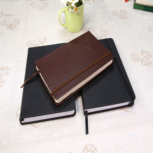 Customized Notebook with PU Leather with a Silk pictures & photos