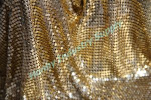 3mm and 4mm Aluminum Metal Mesh for Curtain or Clothes Design (P160729A)