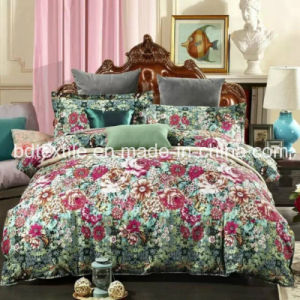 Stocklots of Bedsheet Fabric with High Density and Bright Colour pictures & photos