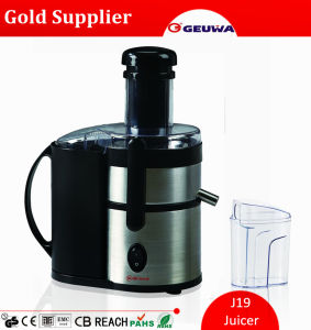 Geuwa 450W Stainless Steel Centrifugal Electric Juicer (J19) pictures & photos