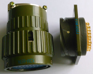 Y2m Series Bayonet Coupling Connector pictures & photos
