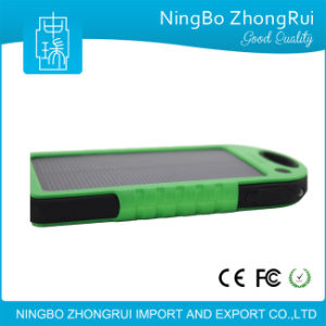 Hot Selling 5000mAh Solar Charger Waterproof Solar Power Bank for Mobile Phones pictures & photos