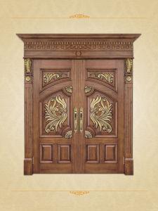 Luxury Double Solid Wood Doors