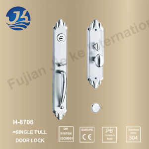 Stainless Steel 304 Handle Lock with American Lock (H-8706) pictures & photos