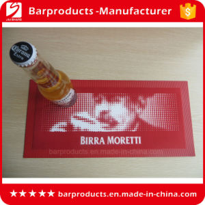 High Quality Red PVC Bar Placemat