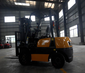 Gasoline-LPG Duel Fuel Forklift with German Techinique pictures & photos