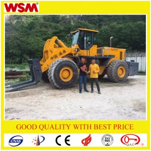 Hot Sale 32 Tons Wheel Loader Exported to Indonesia Biggest Mining pictures & photos
