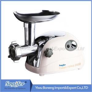 Electric Meat Grinder Mince Machine with Reverse Function Sf260-601