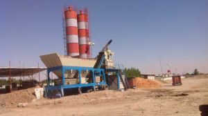 Yhzs25 Factory Price Movalbe Concrete Batching Plant pictures & photos