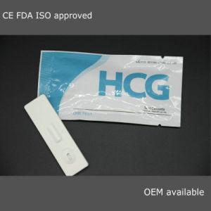 Rapid HCG Pregnancy Test (strip/ cassette/ midstream) Ce ISO FDA pictures & photos