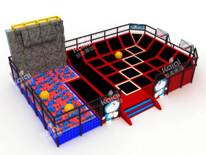 Kaiqi Professional Indoor Trampoline for Children and Adults (TR320A) pictures & photos