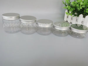 Transparent Pet Plastic Cosmetic Cream Jar (PPC-PPJ-18) pictures & photos
